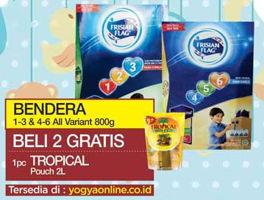Promo Harga FRISIAN FLAG 123 Jelajah / 456 Karya All Variants per 2 box 800 gr - Yogya
