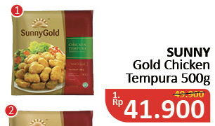 Promo Harga SUNNY GOLD Chicken Tempura 500 gr - Alfamidi