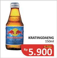 Promo Harga KRATINGDAENG Energy Drink 150 ml - Alfamidi