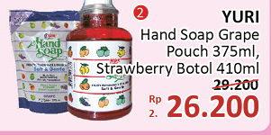 Promo Harga YURI YURI Hand Soap  - Alfamidi