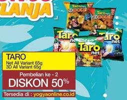 Promo Harga TARO Net All Variant / 3D All Variant 65g  - Yogya