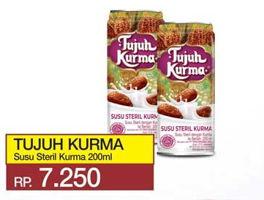 Promo Harga TUJUH KURMA Susu Steril Kurma 200 ml - Yogya