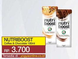 Promo Harga MINUTE MAID Nutriboost Coffee, Chocolate 180 ml - Yogya
