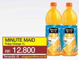 Promo Harga MINUTE MAID Juice Pulpy Pulpy Orange 1 ltr - Yogya