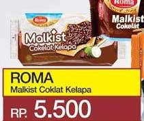 ROMA Malkist Crackers Cokelat Kelapa  Harga Promo Rp5.500, Tersedia di: yogyaonline.co.id, Toserba Yogya & Griya