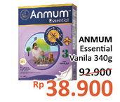 Promo Harga ANMUM Essential 3 / Essential 4 Vanilla 340 gr - Alfamidi