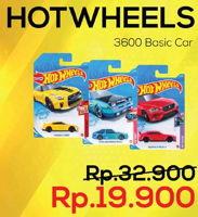 Promo Harga HOT WHEELS Basic Car 3600  - Yogya