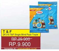 Promo Harga T&F DFJ15 Single Blind Pack Tray  - Yogya