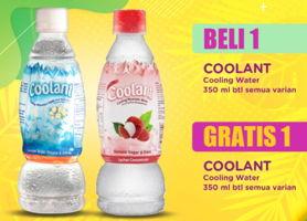 Promo Harga COOLANT Minuman Penyegar All Variants 350 ml - Indomaret
