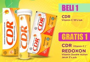 Promo Harga CDR Suplemen Makanan 10 pcs - Indomaret