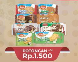 Promo Harga ROMA Malkist Crackers  - Hypermart