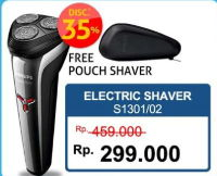 Promo Harga PHILIPS S1301 | Shaver  - Hartono