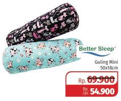 Promo Harga BETTER SLEEP Guling Mini 50 X 18 Cm  - Lotte Grosir