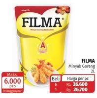 Promo Harga FILMA Minyak Goreng 2 ltr - Lotte Grosir
