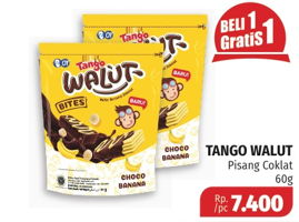 Promo Harga TANGO Walut Choco Banana 60 gr - Lotte Grosir