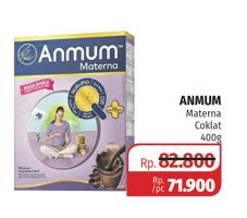 Promo Harga ANMUM Materna Cokelat 400 gr - Lotte Grosir