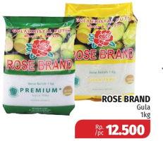 Promo Harga ROSE BRAND Gula Pasir 1 kg - Lotte Grosir