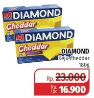 Promo Harga DIAMOND Keju Cheddar 180 gr - Lotte Grosir