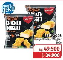 Promo Harga BELFOODS ROYAL Chicken Nugget 500 gr - Lotte Grosir