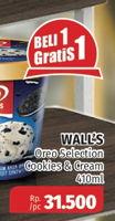 Promo Harga WALLS Selection Oreo Cookies Cream 410 ml - Lotte Grosir