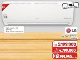 Promo Harga LG S10EV4 | AC Split 1 PK  - Lotte Grosir