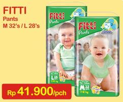 Promo Harga FITTI Pants M32, L28  - Indomaret