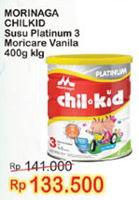 Promo Harga MORINAGA Chil Kid Platinum Vanilla 400 gr - Indomaret