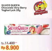 Promo Harga SILVER QUEEN Chocolate Very Berry Yoghurt 28 gr - Indomaret