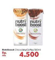 Promo Harga MINUTE MAID Nutriboost Chocolate, Coffee 180 ml - Carrefour