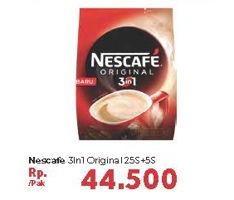 Promo Harga NESCAFE Original 3 in 1 30 pcs - Carrefour