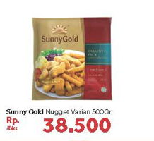 Promo Harga SUNNY GOLD Chicken Nugget All Variants 500 gr - Carrefour