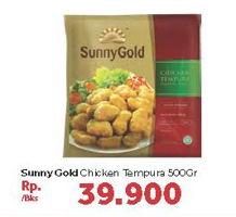 Promo Harga SUNNY GOLD Chicken Tempura 500 gr - Carrefour
