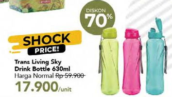 Promo Harga Sky Bottle 630 ml - Carrefour