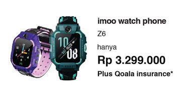 Promo Harga IMOO Z6 Watch Phone  - Erafone