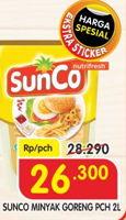 Promo Harga SUNCO Minyak Goreng 2 ltr - Superindo