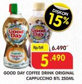 Promo Harga Good Day Coffee Drink Tiramisu Funtastic Mocacinno Avocado Delight Cappucino 250 Ml Indomaret Hemat Id
