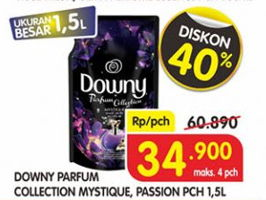 Promo Harga DOWNY Parfum Collection Mystique, Passion 1500 ml - Superindo