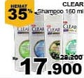 Promo Harga CLEAR Shampoo 160 ml - Giant