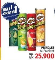 Promo Harga PRINGLES Potato Crisps All Variants  - LotteMart
