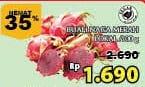 Promo Harga Buah Naga Merah Lokal per 100 gr - Giant