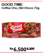 Promo Harga GOOD TIME Cookies Chocochips Coffee, Double Choc 16 gr - Alfamart