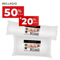 Promo Harga LUXE Bellagio Pillow Bolster  - Carrefour