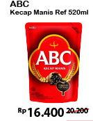 Promo Harga ABC Kecap Manis 520 ml - Alfamart