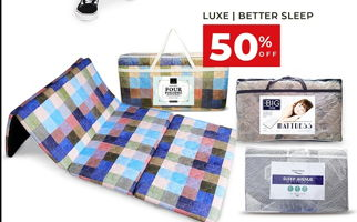 Promo Harga THE LUXE The Luxe / Better Sleep Matras  - Carrefour