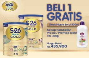 Promo Harga S26 Procal Gold/Promise Gold Susu Pertumbuhan 1600 gr - LotteMart