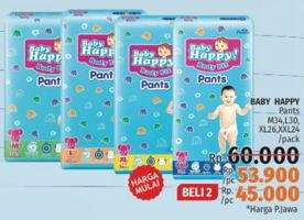 Promo Harga BABY HAPPY Body Fit Pants M34, L30, XL26, XXL24  - LotteMart