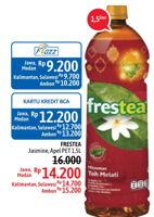 Promo Harga FRESTEA Minuman Teh Jasmine, Apel 1500 ml - Alfamidi