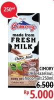 Promo Harga CIMORY Fresh Milk Chocolate, Hazelnut 250 ml - Alfamidi