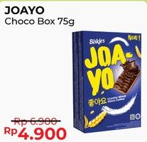 Promo Harga BISKIES Joayo Chocolate 75 gr - Alfamart