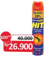 Promo Harga HIT Aerosol 600 ml - Alfamidi